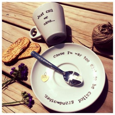 sooo me cup and saucer set